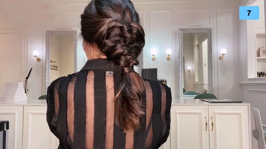 María nos enseña sus peinados para estar fabulosa estas navidades (2/2)
