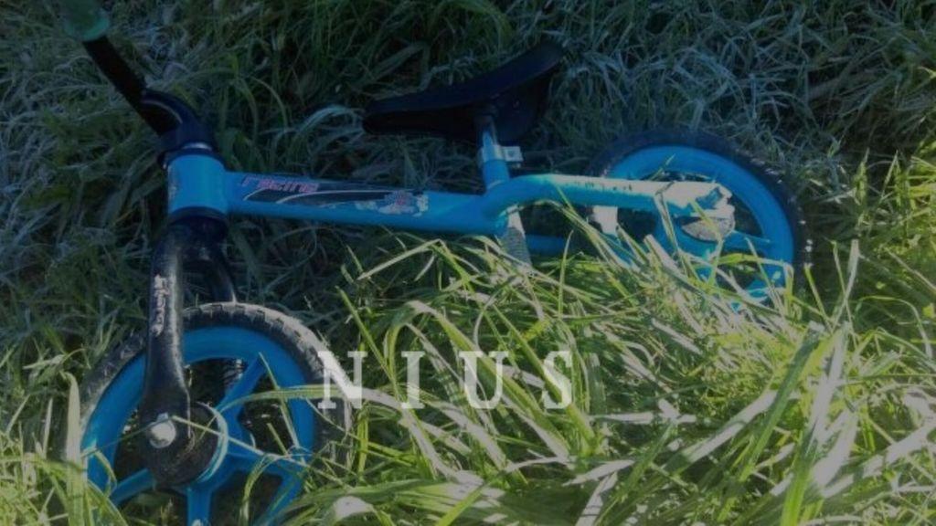 Bicicleta del pequeño fallecido en Torrelavega
