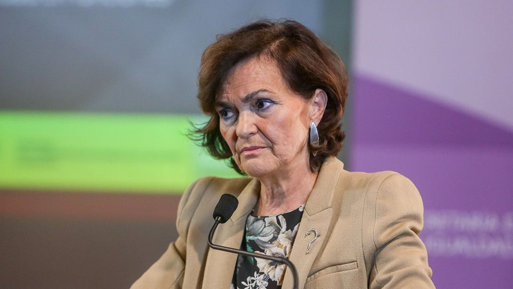 """""""Nadie va a impedir que sigamos avanzando"""": Carmen Calvo en el 15 aniversario de la Ley de Violencia de Género"""