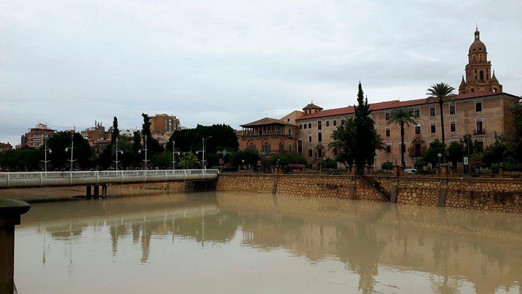 Detenidos siete jóvenes en Murcia por agredir, robar y tirar al río Segura a un discapacitado