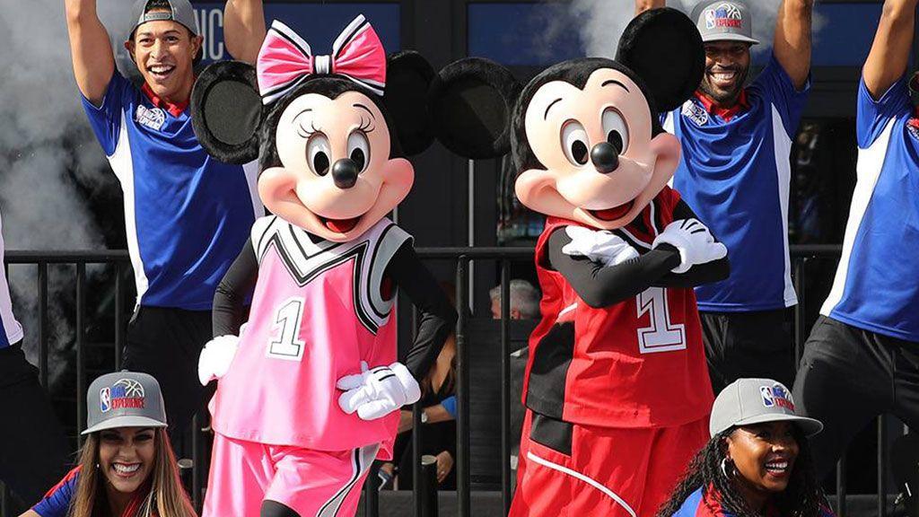 Mickey y Minnie en Orlando