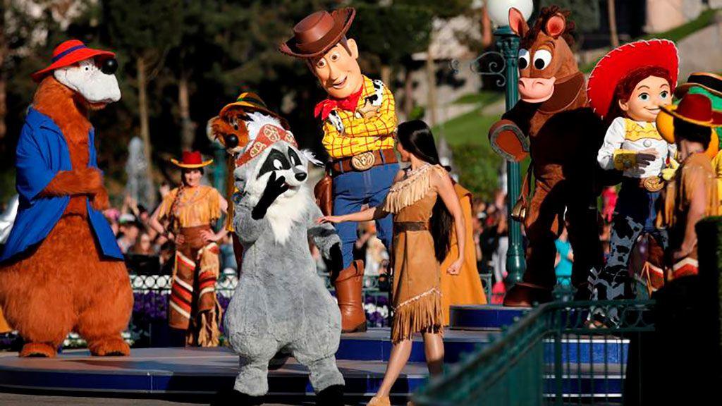 Las 'mascotas' de Disney entonan el 'Me Too'
