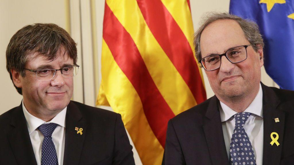 """Puigdemont anuncia su regreso: """"Nos vemos pronto en tierras catalanas"""""""