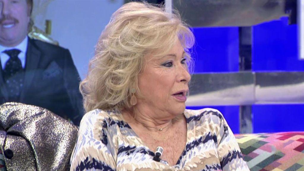 Maite Valdelomar habla de cómo se encuentra María Teresa Campos