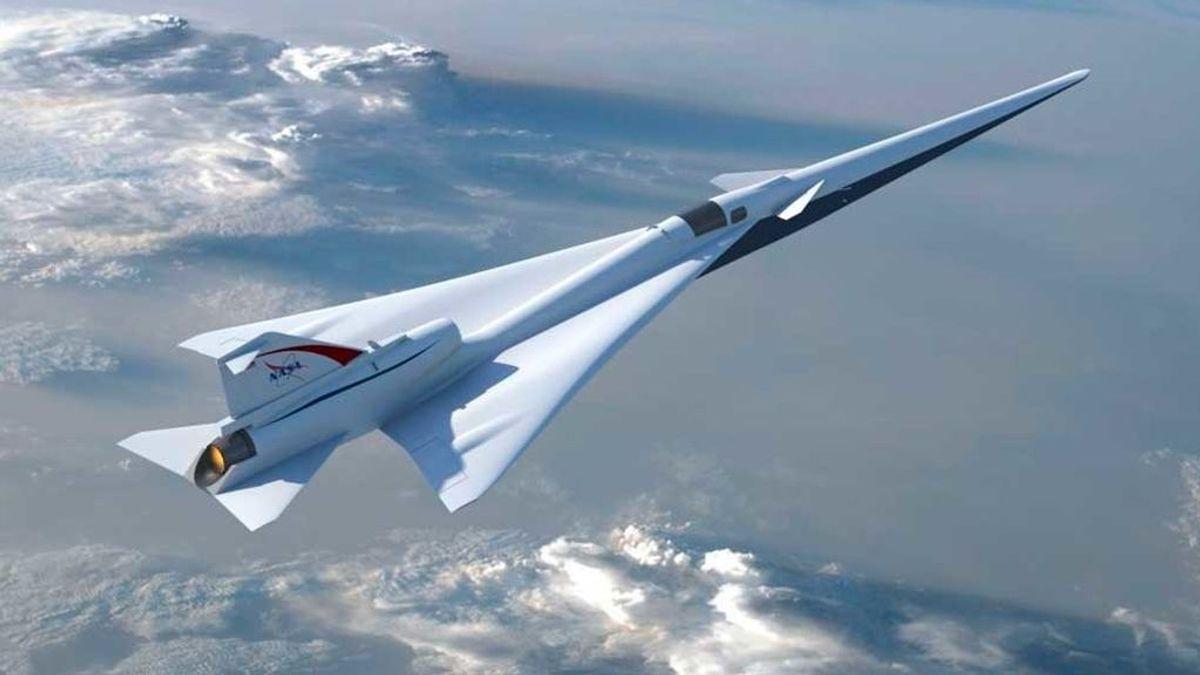 El avión supersónico silencioso de la NASA, más cerca de despegar