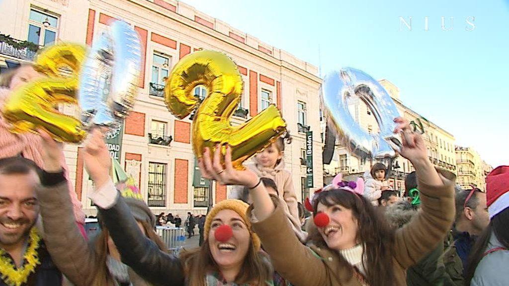 Todo listo para las campanadas en la Puerta del Sol
