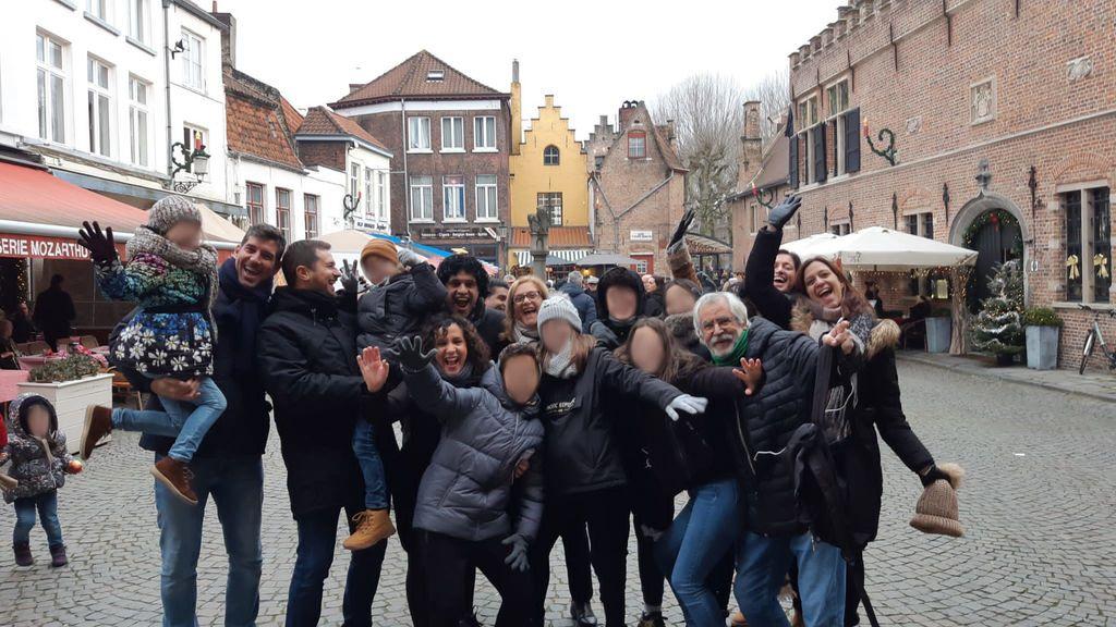 El calvario de una familia española en Bélgica, sin hotel por un error informático