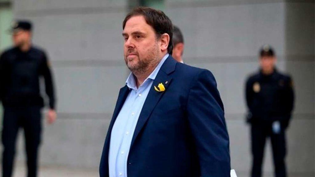 La Abogacía del Estado presenta su informe sobre la inmunidad de Oriol Junqueras