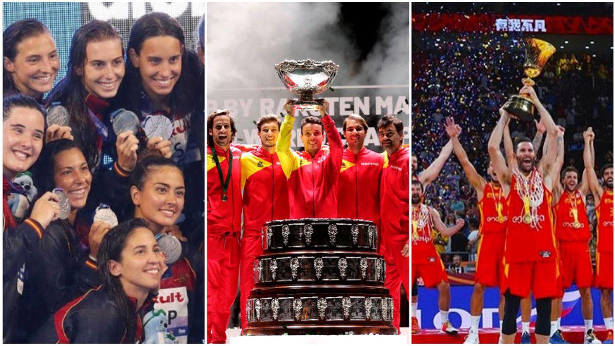 2019, el año del deporte español: cuatro finales de mundiales y un medallero envidiable