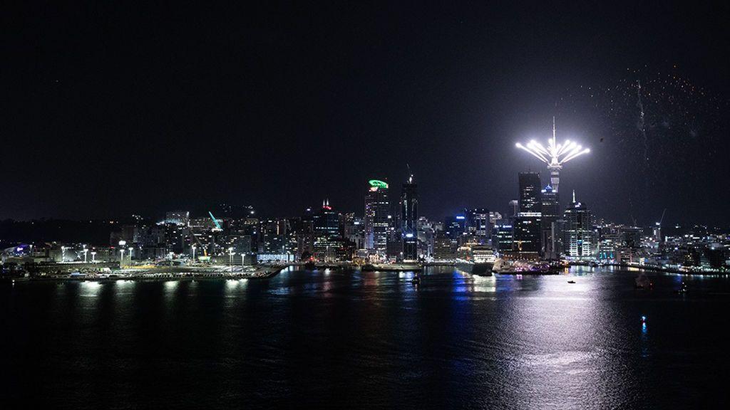 Auckland, la capital de Nueva Zelanda, primera en dar la bienvenida al 2020