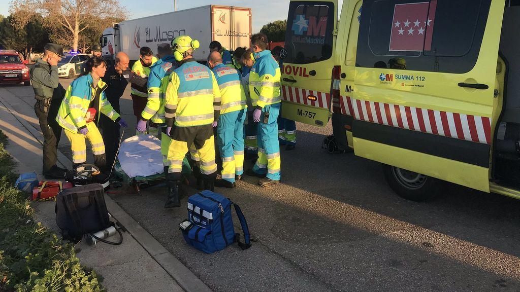 Muere un hombre tras caer del tejado de su vivienda en Madrid
