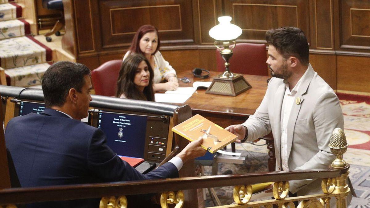 """ERC desbloquea la investidura con un """"sí"""" al acuerdo con Sánchez"""