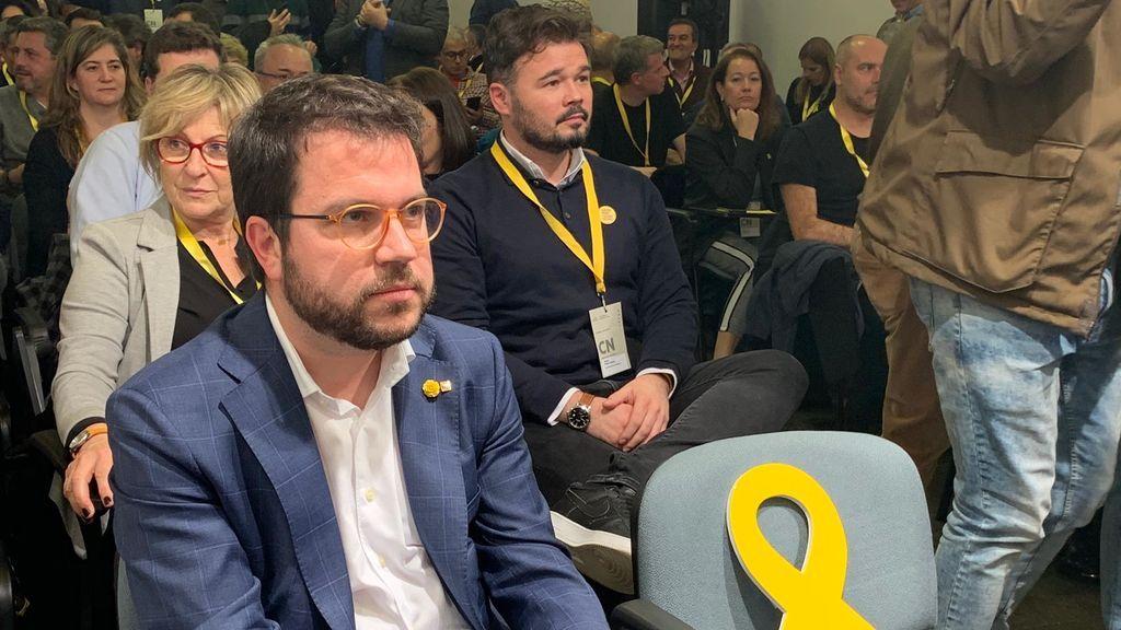 """Pere Aragones: """"Hemos creado una mesa para ir a defender un referéndum de independencia"""""""