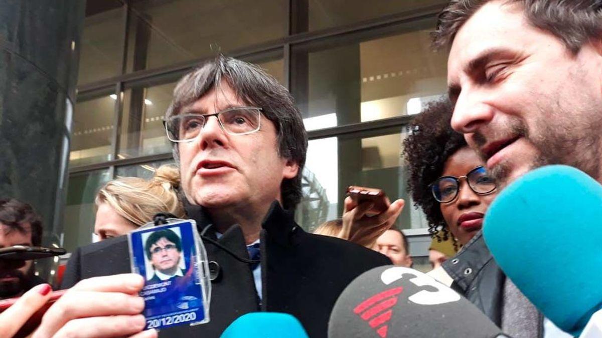La justicia belga suspende la euroorden contra Puigdemont y Comín por su inmunidad como eurodiputados