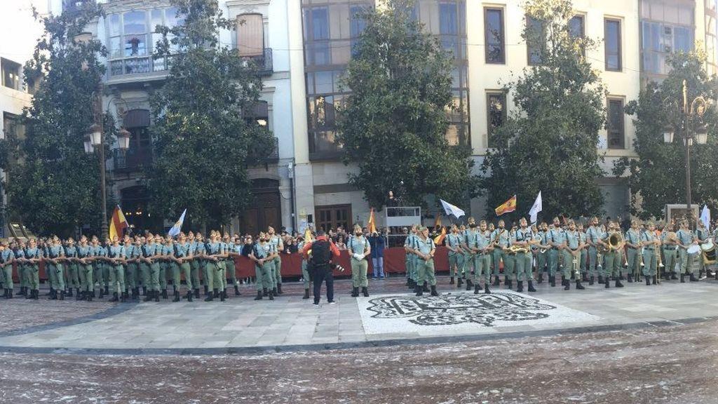 La irrupción de Vox en la 'Toma de Granada': una celebración a su medida