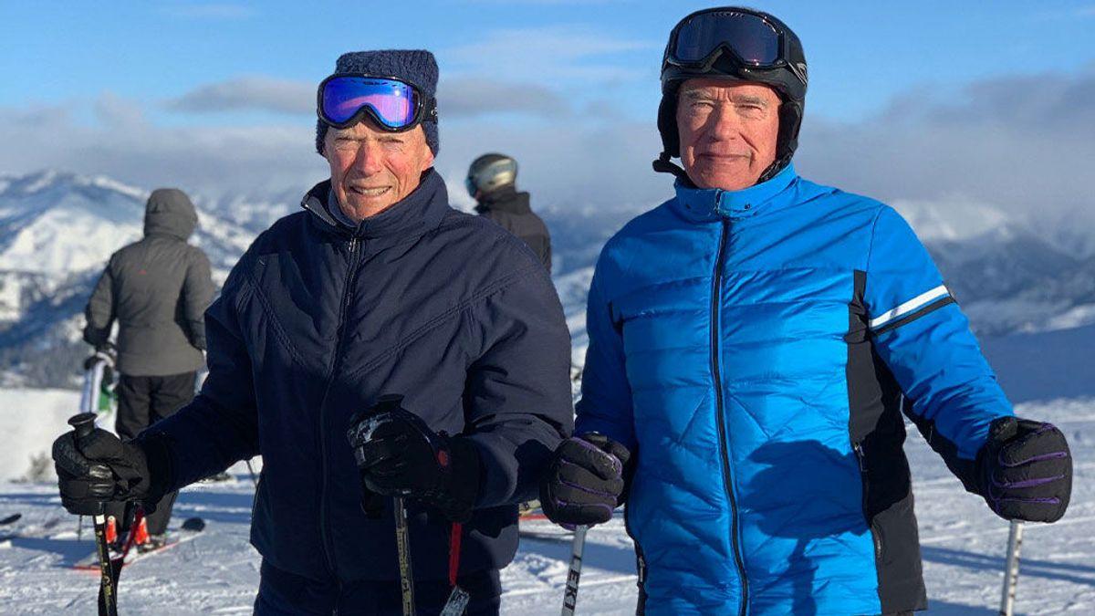 Arnold Schwarzenegger y Clint Eastwood