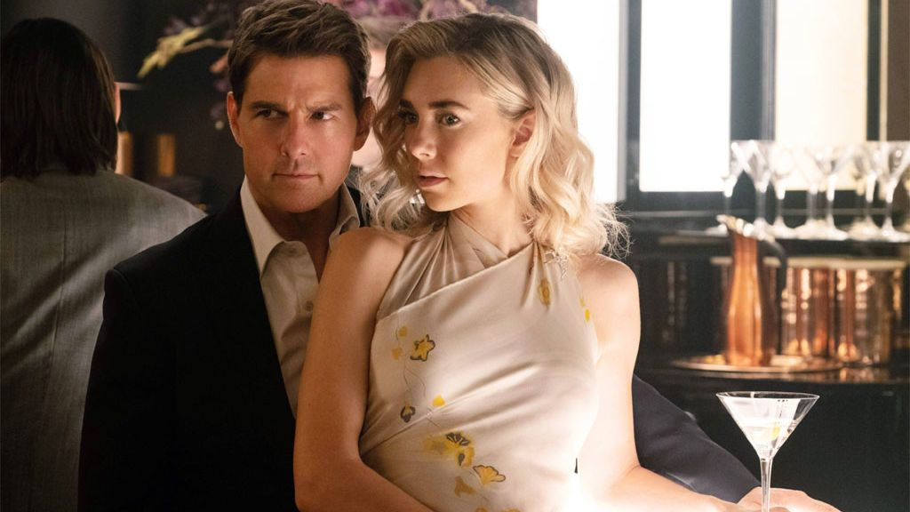 Vanessa Kirby y Tom Cruise en Misión Imposible 6