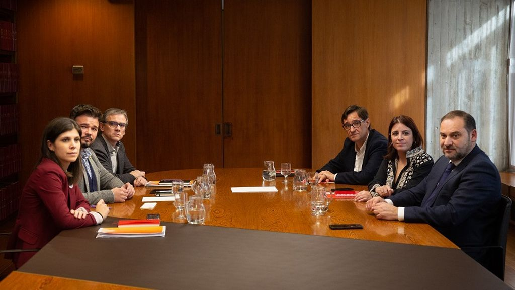 Las dudas de la mesa de negociación sobre el conflicto político en Cataluña