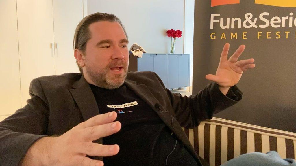 Entrevista Roger Clark en Fun & Serious 2019