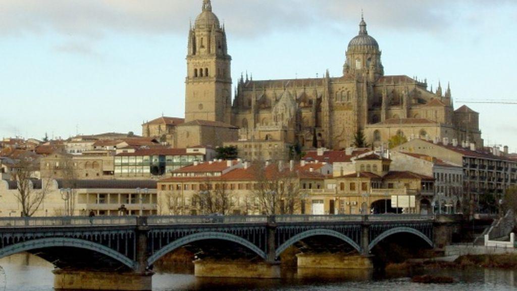 Encuentran en el río Tormes de Salamanca el cadáver de una mujer