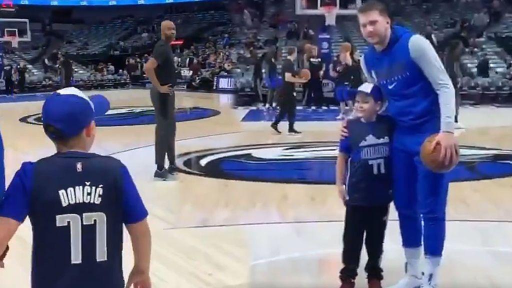 """El regalo de Doncic a un niño con epilepsia: """"Ver jugar a Luka te ayuda, ¡9 meses sin convulsiones!"""""""