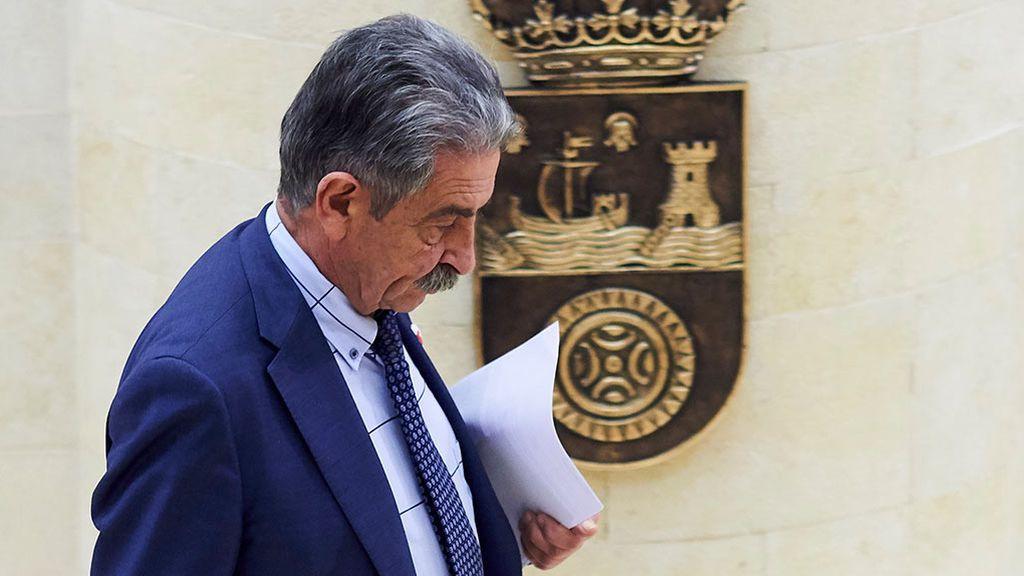 El PSOE advierte a Revilla: un 'no' a Sánchez rompe el pacto de gobierno en Cantabria
