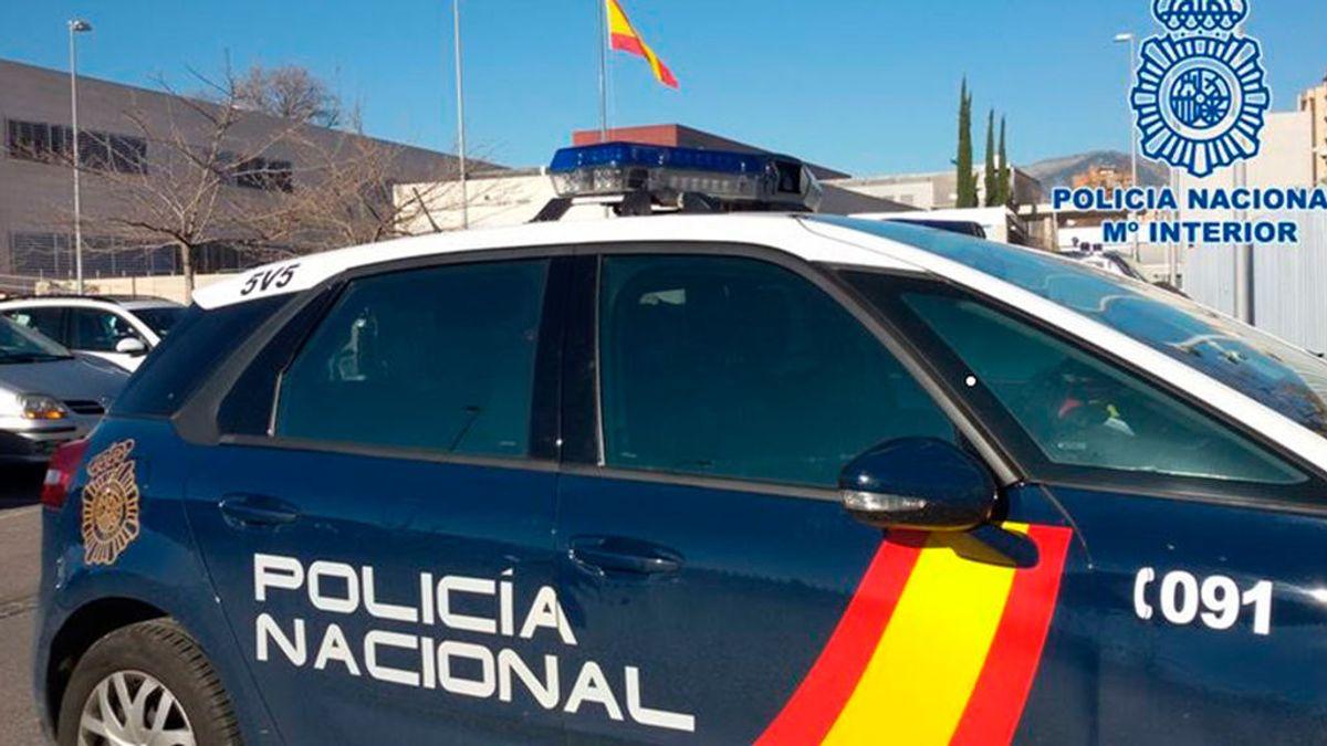 Coche patrulla Policía Nacional
