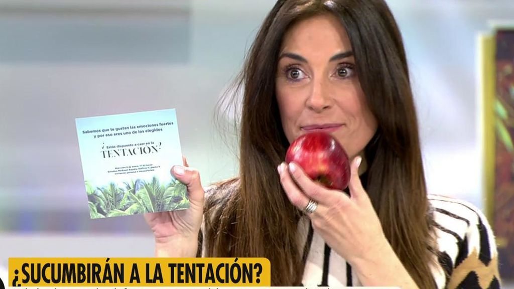 Isabel Rábago recibe una invitación sorpresa de 'La isla de las tentaciones'