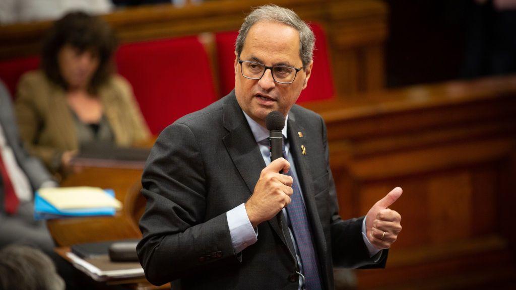 Torra rechaza el acuerdo de diálogo entre PSOE y ERC y defiende la vía más unilateral