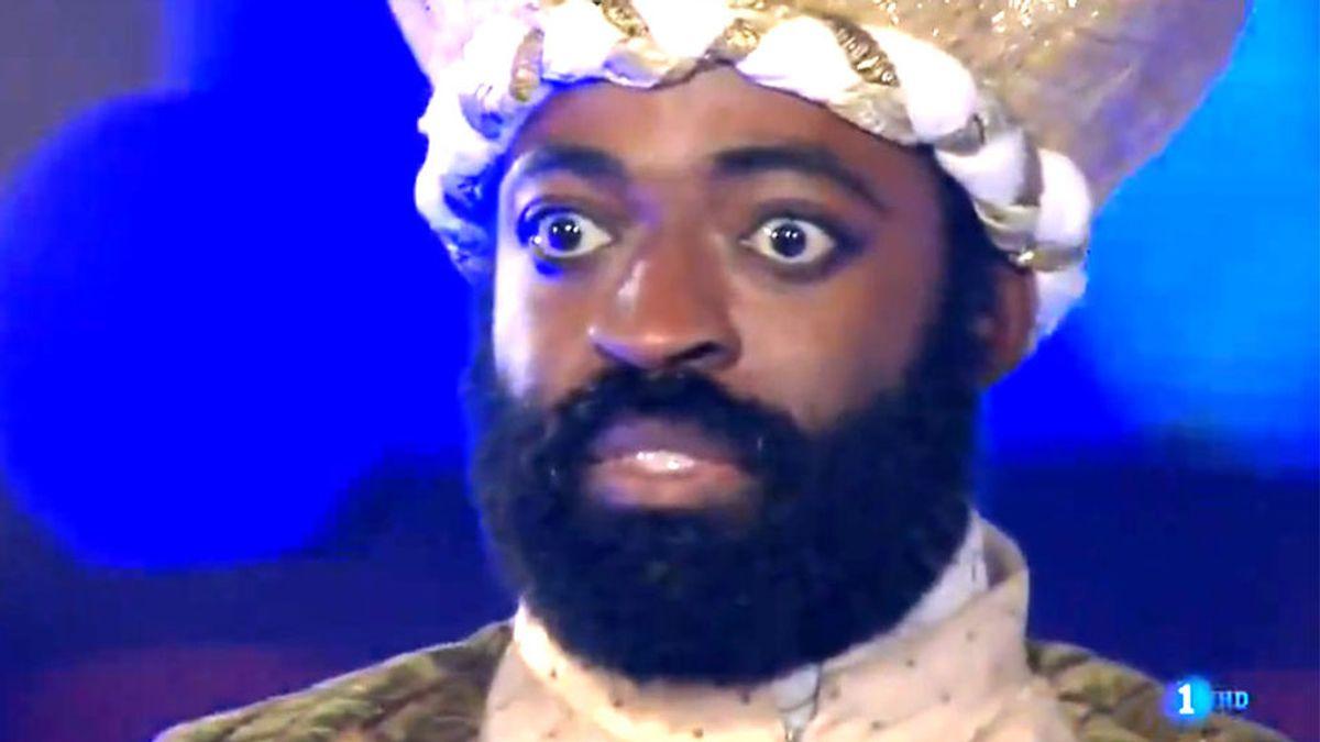 El misterio de la cara de terror del rey Baltasar: hablamos con su protagonista