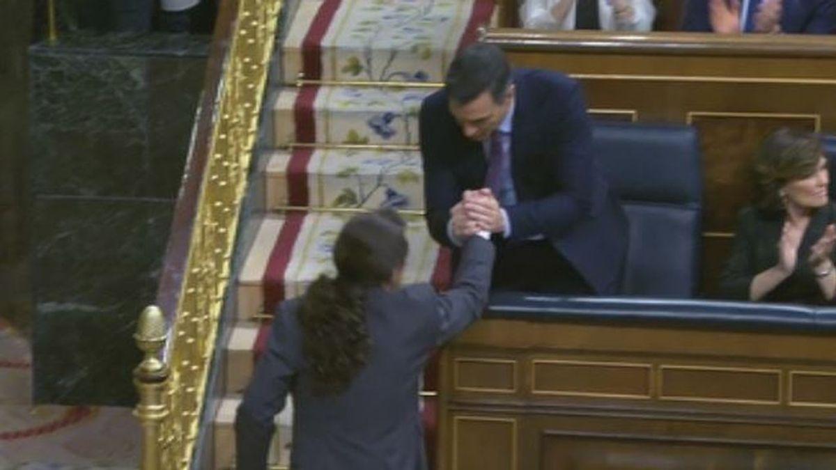 Pablo Iglesias da las gracias a los presos y exiliados del procés por facilitar el Gobierno
