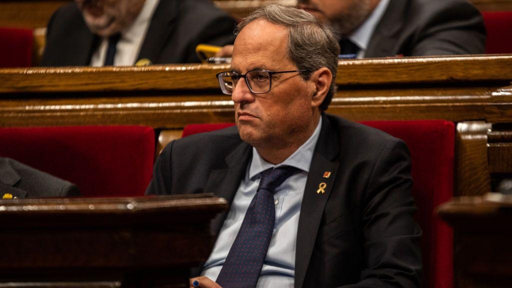 Torra anuncia un recurso al Supremo y exige a la Junta Electoral Provincial paralice su inhabilitación