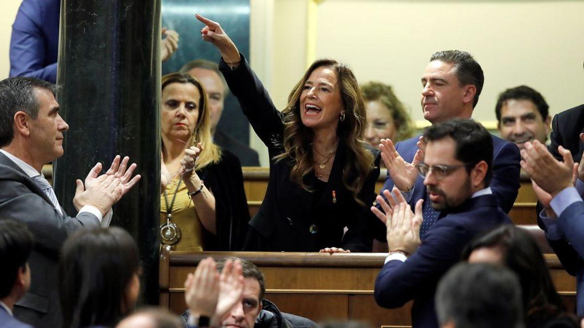 """Teresa Jiménez-Becerril, víctima de ETA, reprocha a Sánchez su acuerdo con Bildu: """"Es un tipo sin escrúpulos"""""""