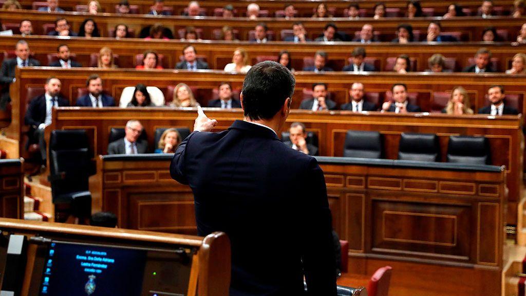 Debate de investidura: izquierda y derecha confrontan su idea de España por el pacto de Sánchez con ERC