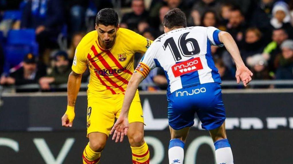 El Barça empata el derbi ante el Espanyol y vuelve a apretar la liga (2-2)