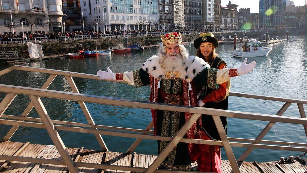 Los Reyes Magos de Oriente ya están en Gijón