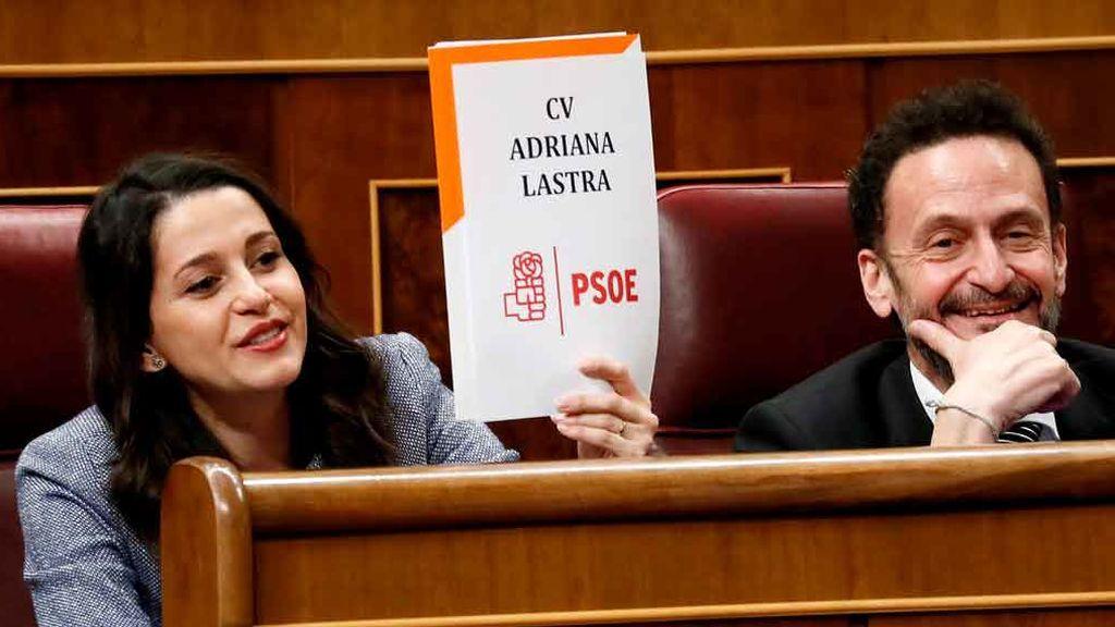 El PSOE acusa a Ciudadanos de alentar un 'tamayazo'