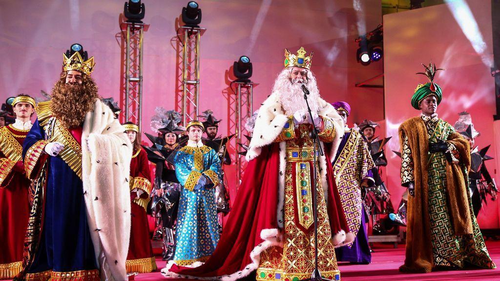 Discurso de los Reyes Magos al finalizar la Cabalgata de Madrid