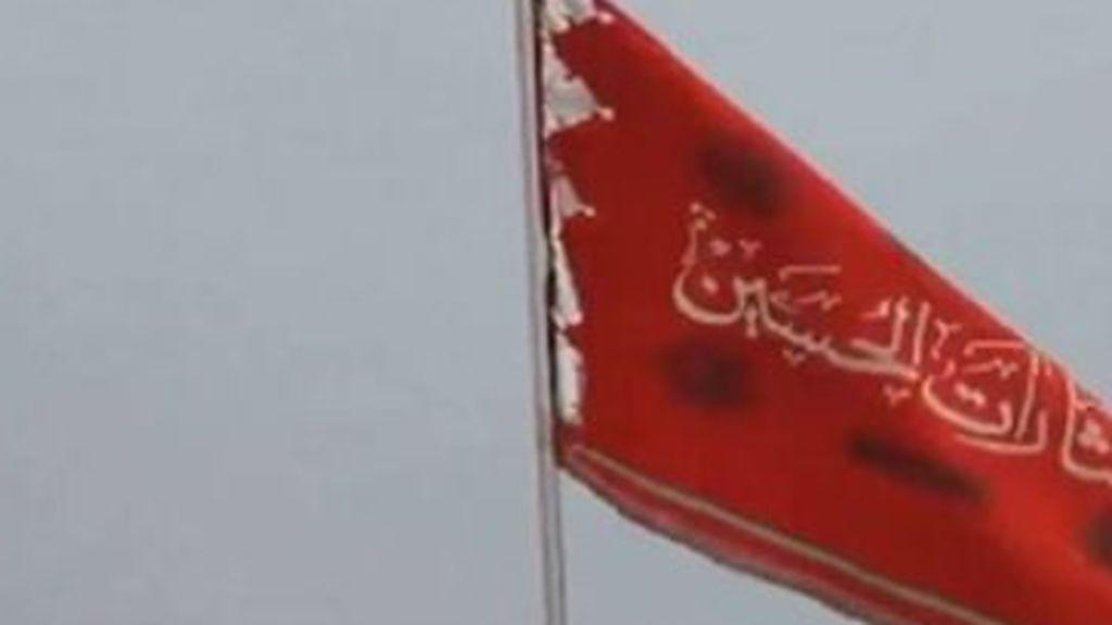 La bandera roja de la venganza ondea en Irán que amenaza con atacar la Casa Blanca