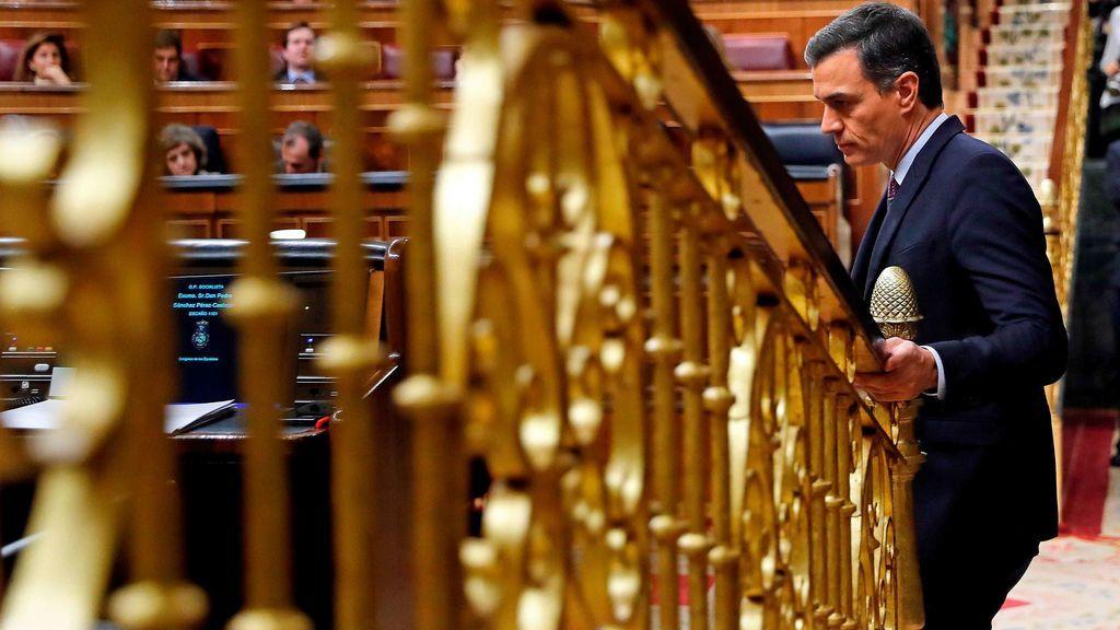 Sánchez no consigue superar la mayoría absoluta en la primera votación