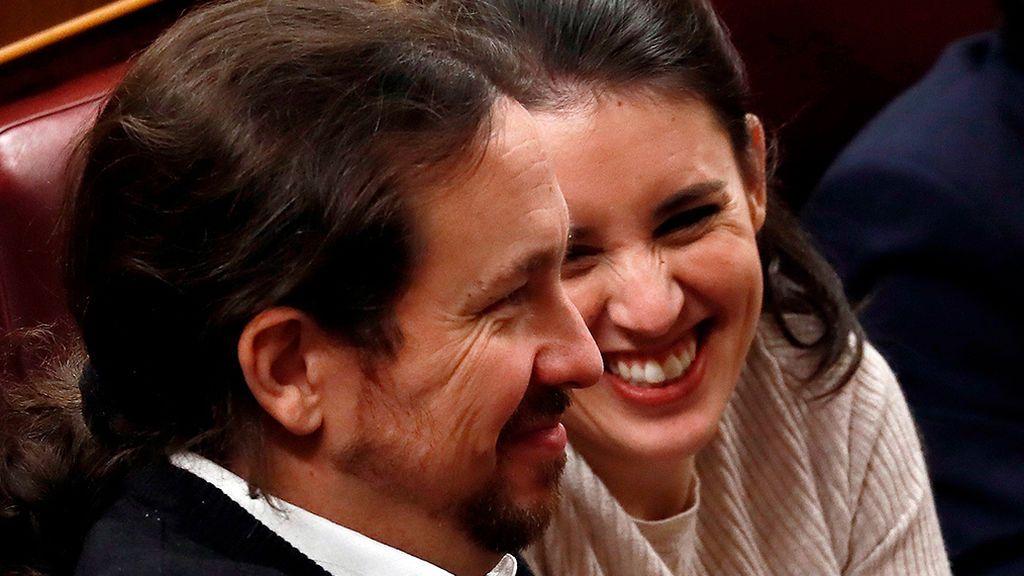 Los Ministros de Podemos: Montero, Garzón, Yolanda Díaz y Manuel Castells