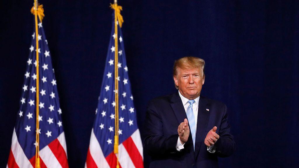 Trump le declara la guerra a Irán en Twitter