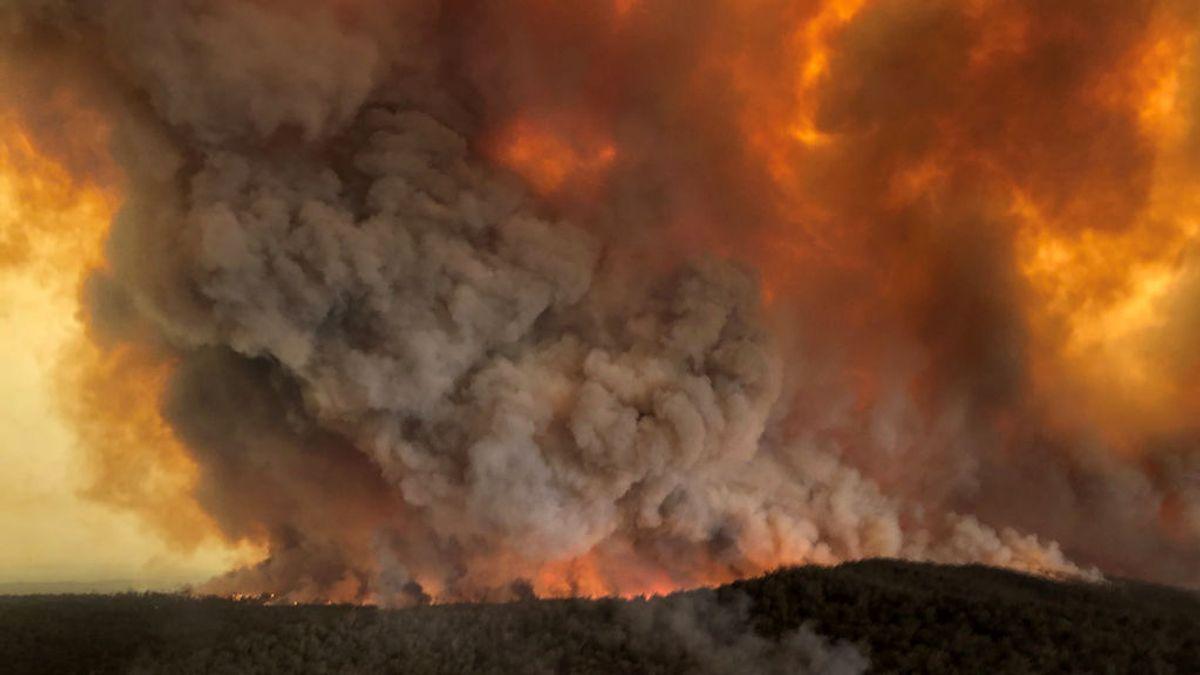 El humo de los incendios forestales de Australia llega a Chile