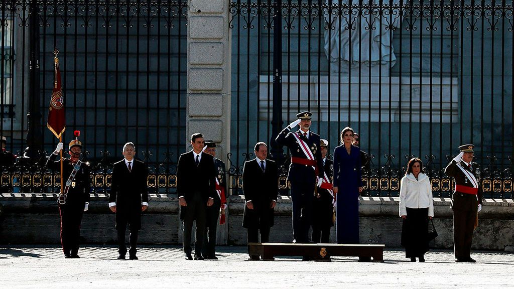 El Rey preside la Pascua Militar tras la bronca del Congreso en la que le llamaron 'autoritario'