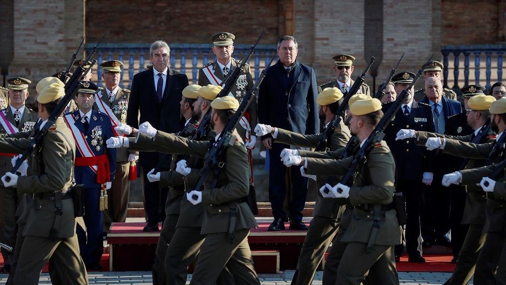 Los Reyes presiden la Pascua Militar, en imágenes