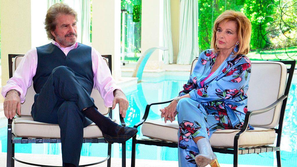 Bigote Arrocet y María Teresa Campos, cuando eran pareja