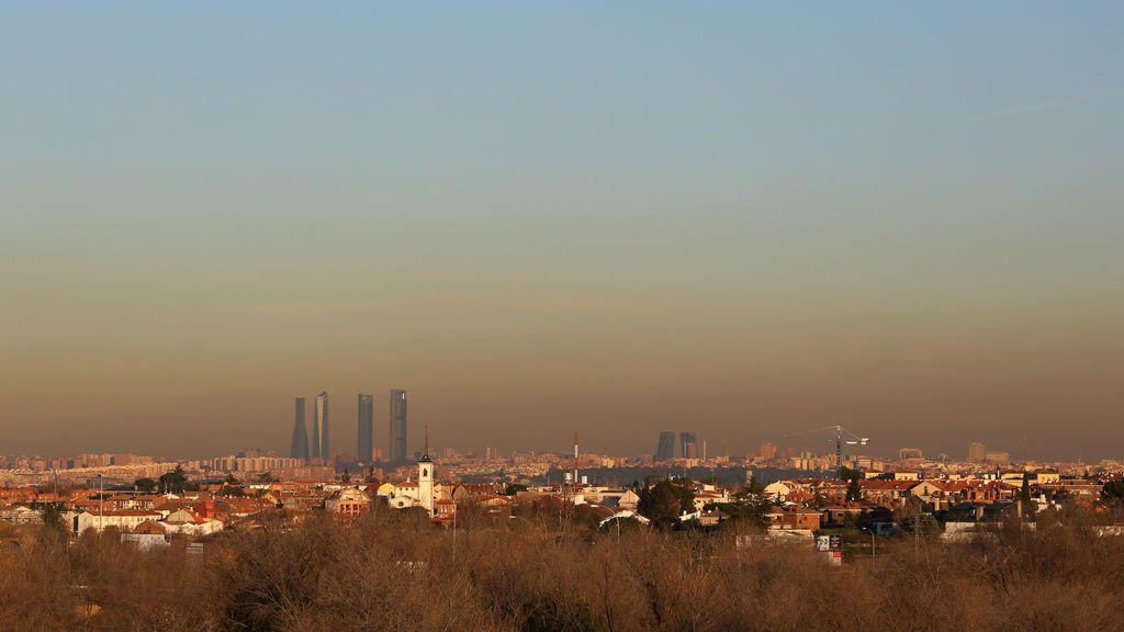 Vuelve el rojo: la contaminación se dispara en Madrid por la ausencia de lluvias