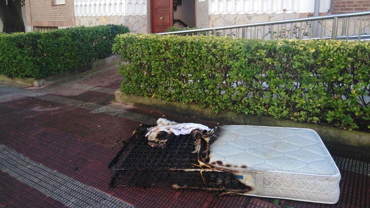 Otra víctima del fuego: un hombre muere en un incendio en Vizcaya