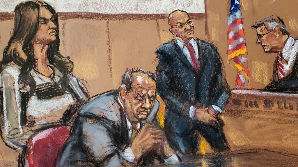 Día 2: El juez amenaza a Weinstein con mandarle a prisión si no deja de usar el teléfono móvil
