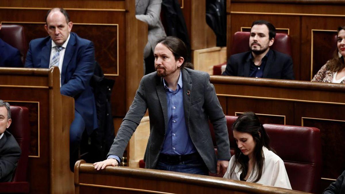 Iglesias tendrá a Álvarez y Belarra de secretarios de Estado y al exJEMAD, de jefe de gabinete